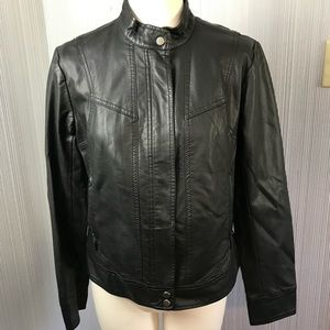 Bernardo Black Jacket Medium